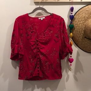 Madewell romantic 70s style blouse!!